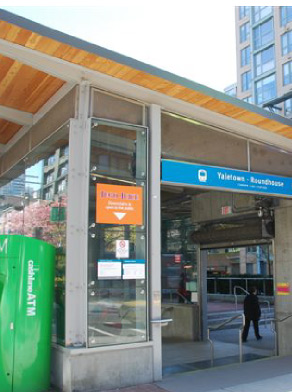 Yaletown Station Canada Line Map Yaletown   Roundhouse Station Guide • The Canada Line