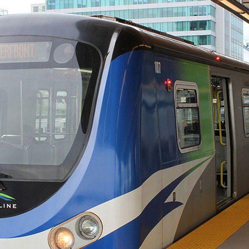 The Canada Line Metro Vancouver Rapid Transit